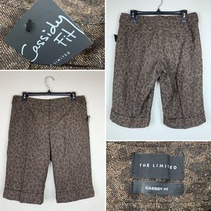 The Limited CASSIDY FIT Tweed Dress Shorts Sz 8